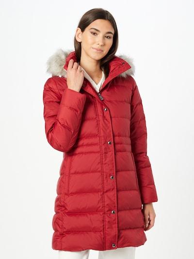 TOMMY HILFIGER Manteau d'hiver 'TYRA' en rouge, Vue avec modèle