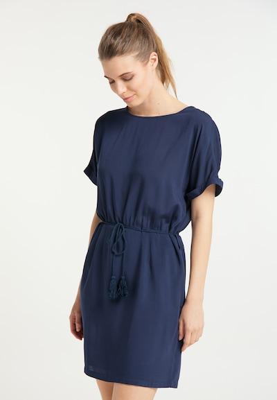 DreiMaster Vintage Kleid in navy, Modelansicht