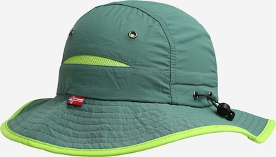 TROLLKIDS Casquette de sport en vert clair / vert foncé, Vue avec produit