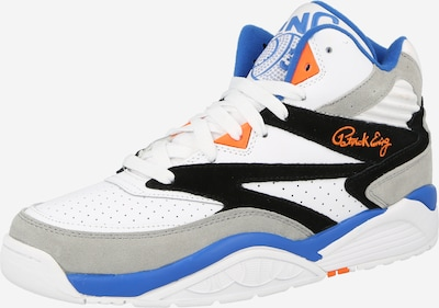 Patrick Ewing Členkové tenisky 'SPORT LITE' - modrá / sivá / oranžová / čierna / biela, Produkt