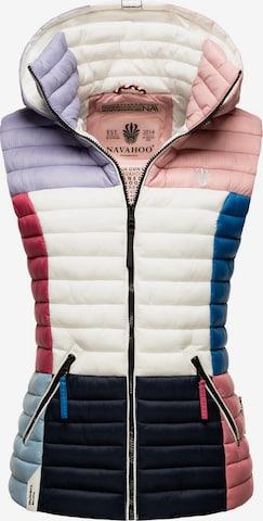 NAVAHOO Vest 'Shadaa' in Mixed colors