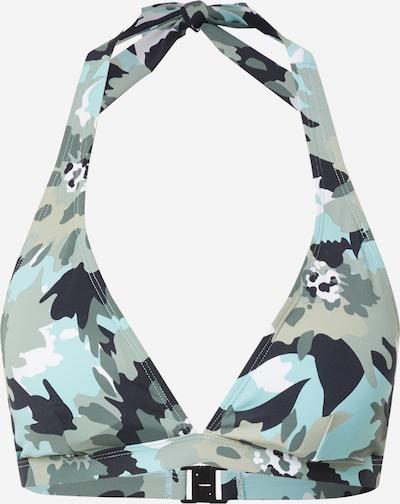 Sutien costum de baie 'HERA' ESPRIT pe albastru marin / albastru deschis / oliv / alb, Vizualizare produs