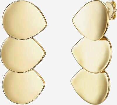 Glanzstücke München Silber-Ohrstecker in gold, Produktansicht