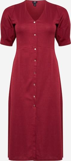 River Island Robe en rouge foncé, Vue avec produit