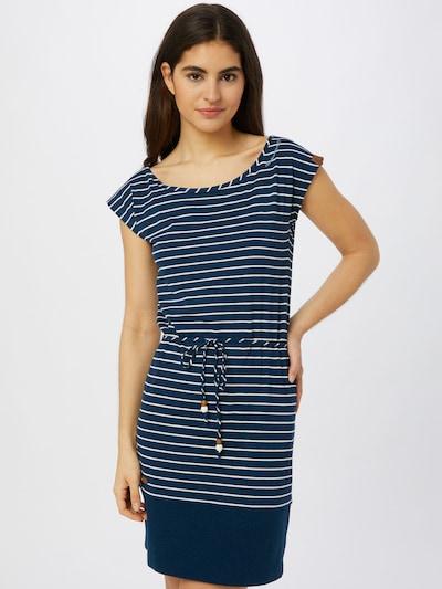 Ragwear Šaty 'Soho Stripes II' - noční modrá / bílá, Model/ka