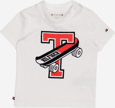TOMMY HILFIGER Camiseta 'SKATEBOARD' en rojo / negro / blanco, Vista del producto