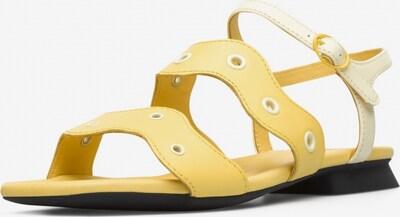 CAMPER Sandalen ' Twins ' in gelb, Produktansicht
