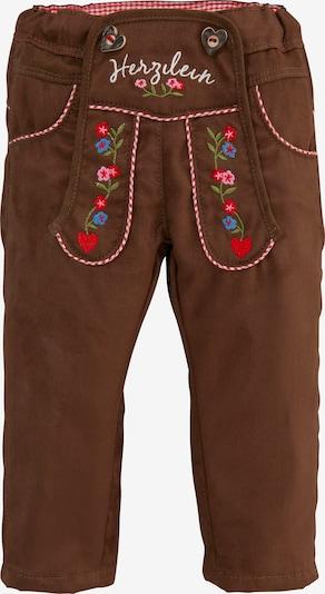 BONDI Hose in blau / braun / rot, Produktansicht