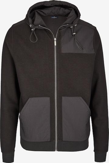 DANIEL HECHTER Sweatjacke in schwarz, Produktansicht