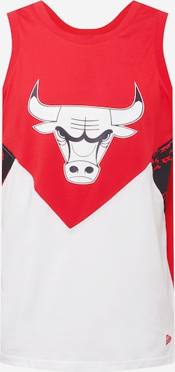 Tricou funcțional 'NBA OIL SLICK' NEW ERA pe roșu / negru / alb, Vizualizare produs
