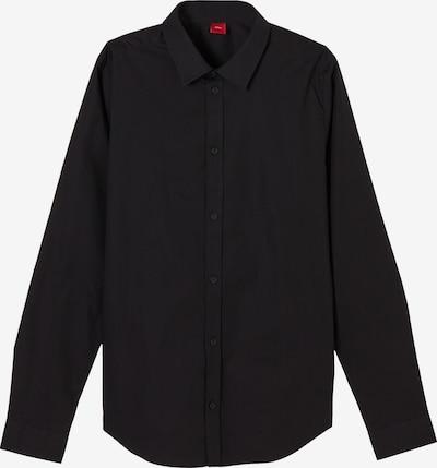 s.Oliver Hemd in schwarz, Produktansicht