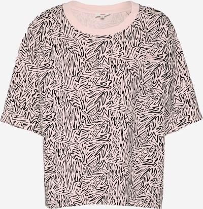 LEVI'S T-Shirt 'BOXY' in schwarz / weiß, Produktansicht