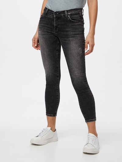 LTB Jeans 'Lonia' in black denim, Modelansicht