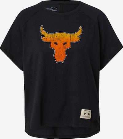 UNDER ARMOUR T-shirt fonctionnel en jaune / orange / noir / blanc, Vue avec produit