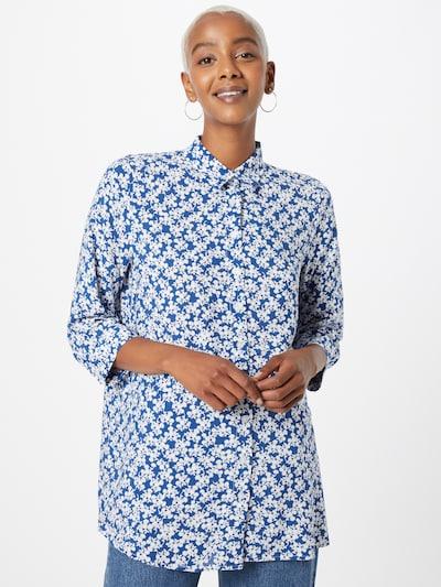 Bluză DeFacto pe albastru regal / alb, Vizualizare model