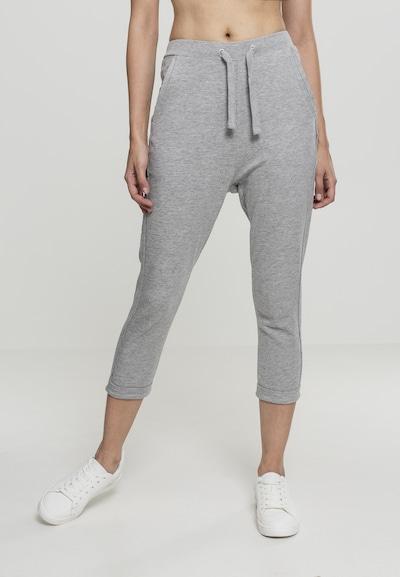 Urban Classics Pantalon 'Terry' en gris clair, Vue avec modèle