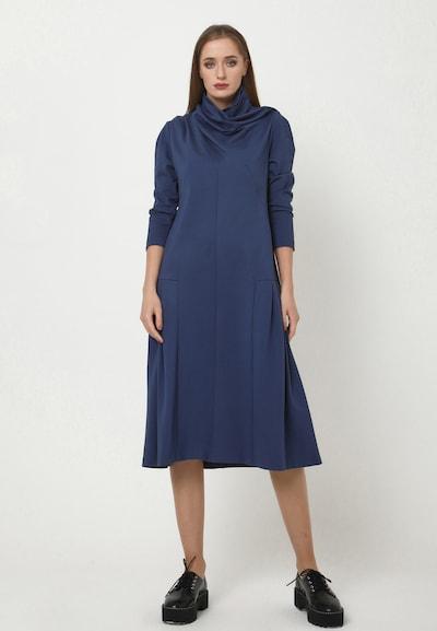 Madam-T Kleid 'LEANES' in blau, Modelansicht
