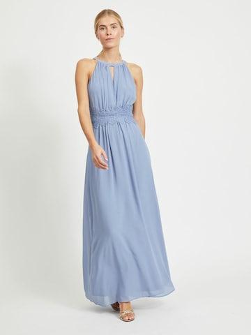 VILA Evening Dress in Blue