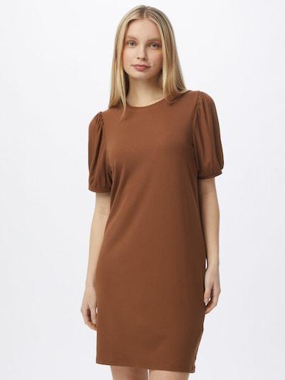 OBJECT Kleid in schoko, Modelansicht
