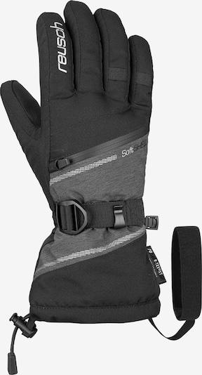 REUSCH Fingerhandschuh 'Demi R-TEX® XT' in graumeliert / schwarz / silber, Produktansicht