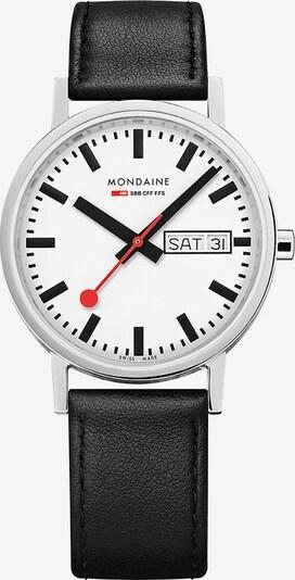 Mondaine Unisex-Uhren Analog Quarz ' ' in silber, Produktansicht