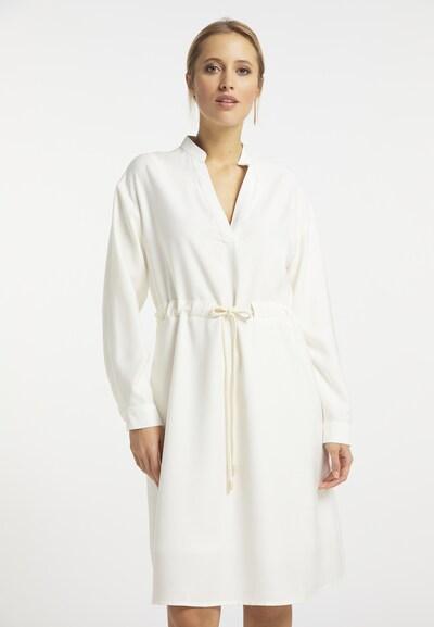 DreiMaster Vintage Kleid in perlweiß, Modelansicht
