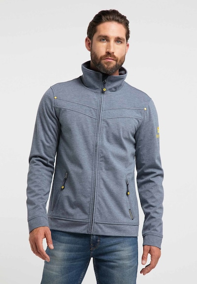 Schmuddelwedda Functionele jas in de kleur Grijs: Vooraanzicht