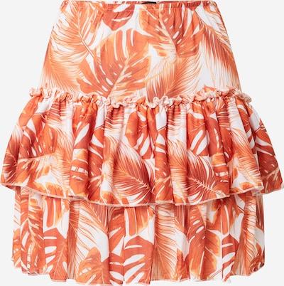 Trendyol Sukňa - oranžová / svetlooranžová / biela, Produkt