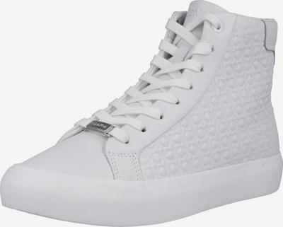 Sneaker înalt Calvin Klein pe alb, Vizualizare produs