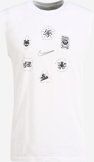 NIKE Sport-Shirt in schwarz / weiß, Produktansicht