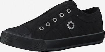 s.Oliver Slip-Ons in Black