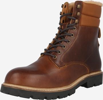 Shoe The Bear Snøreboots i brun