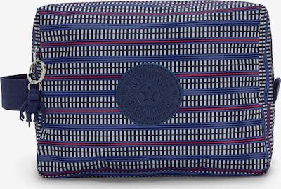 KIPLING Kulturtasche 'Parac' in blau / dunkelblau / rot / weiß, Produktansicht