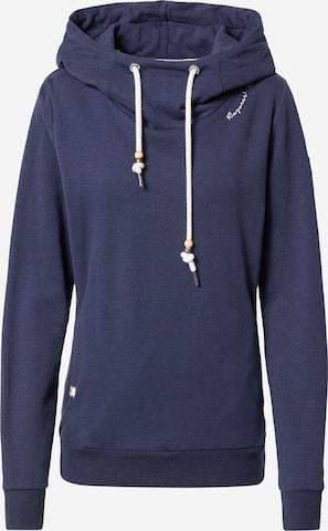 Ragwear Sweatshirt 'FLORA' in Blue