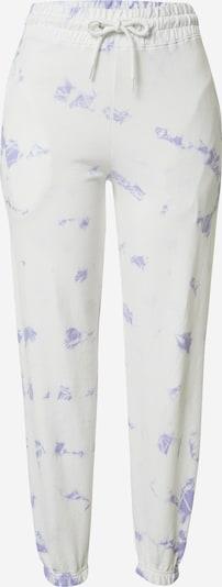 NEW LOOK Pantalon en violet / blanc, Vue avec produit