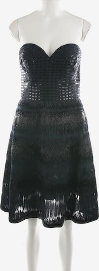 Oscar de la Renta Seidenkleid in M in dunkelblau, Produktansicht