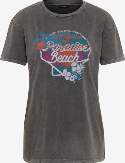 Mavi T-Shirt in blau / schwarz / weiß, Produktansicht