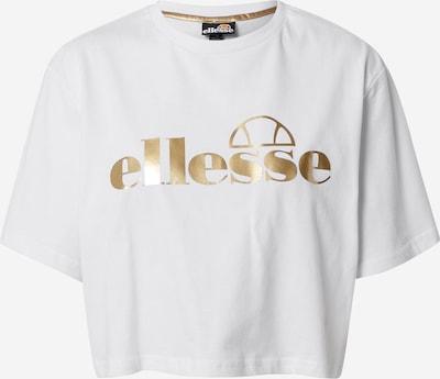 ELLESSE Shirt 'Presepe' in gold / white, Item view