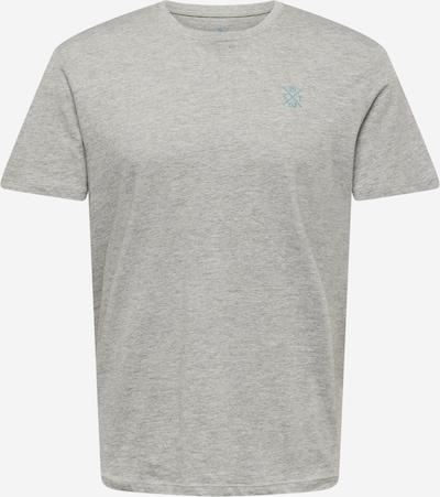 TOM TAILOR Shirt in türkis / graumeliert, Produktansicht