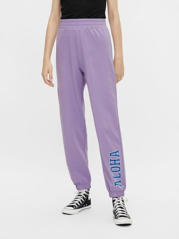 PIECES Hose in Lila