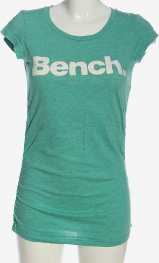 BENCH T-Shirt in S in grün / weiß, Produktansicht