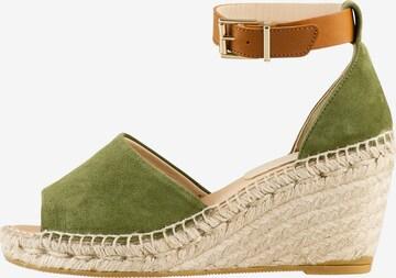 Högl Sandale 'Sorrento' in Grün