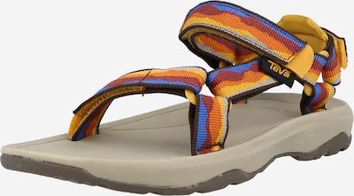 TEVA Zapatos abiertos en azul / amarillo / naranja / rojo oscuro, Vista del producto