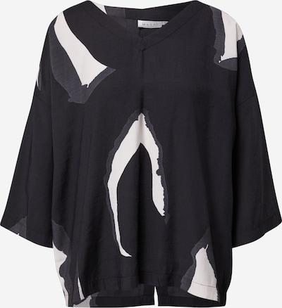 Masai Shirt 'Darleen' in de kleur Zwart / Wit, Productweergave