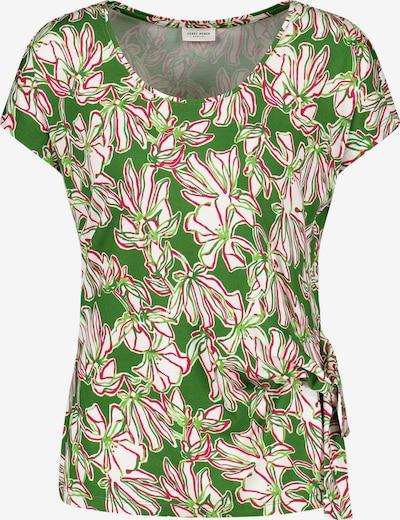 GERRY WEBER T-Shirt in grün / pink / weiß, Produktansicht