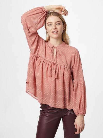 ONLY Bluse 'NEW ELISA' in altrosa, Modelansicht