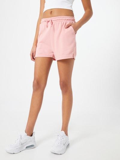 Missguided Hlače   roza barva, Prikaz modela