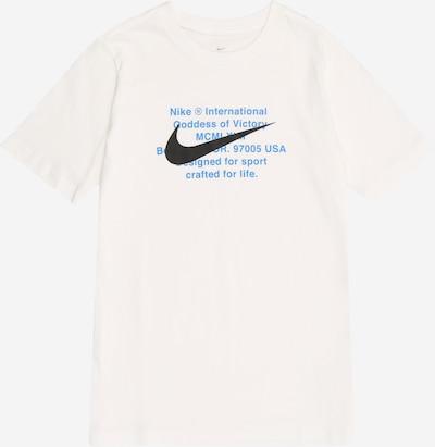 Nike Sportswear T-Shirt in blau / schwarz / weiß, Produktansicht