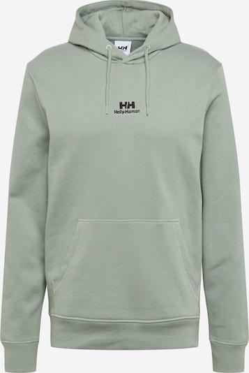 HELLY HANSEN Sweatshirt in pastellgrün / schwarz, Produktansicht