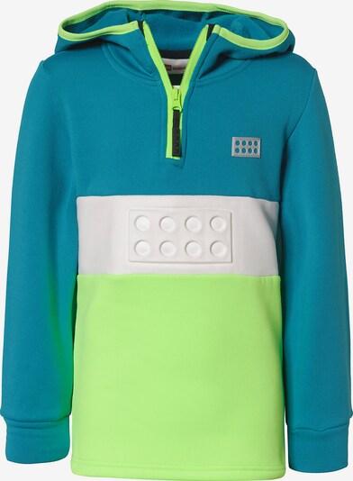 LEGO WEAR Sweatshirt in blau / grün, Produktansicht